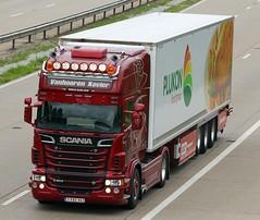 Scania R500 1 FAT 941 - Vanhooren Xavier (gylesnikki) Tags: red truck artic m20 vanhoorenxavier