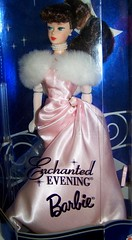 1996 Enchanted Evening Brunette (Rojo_C) Tags: vintage evening barbie enchanted collector repro