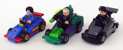 Super Racers (Oky - Space Ranger) Tags: man dc gun lego general steel super superman batman heroes racers universe lex kryptonite zod luthor supermobile