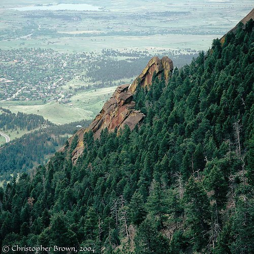 Photo - First Flatiron seen from above.