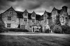Madeley Court. (Yvette-) Tags: blackandwhite shropshire madeley madeleycourt nikond5100
