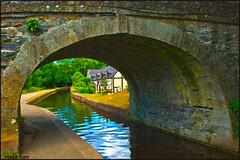 LIVING BY THE CANAL (ninja nan1) Tags: uk bridge trees house wales garden canal nikon llangollen d800 nikon2470mmf28 ninjanan