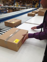 LTS distribution centre (The Open University (OU)) Tags: england people fossil diverse experiment diversity science storage study staff ou kits learning cultures lts distribution employees wellingborough theopenuniversity