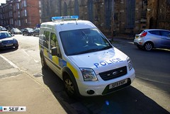 Ford Transit Connect Glasgow 2013 (seifracing) Tags: uk rescue cars ford scotland focus europe cops britain transport scottish police vehicles transit emergency polizei spotting services recovery strathclyde polizia ecosse seifracing sf11fkp