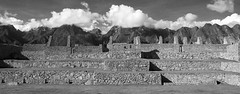 Machu Picchu (Ndecam) Tags: bw mountain mountains peru machu picchu inca america latin