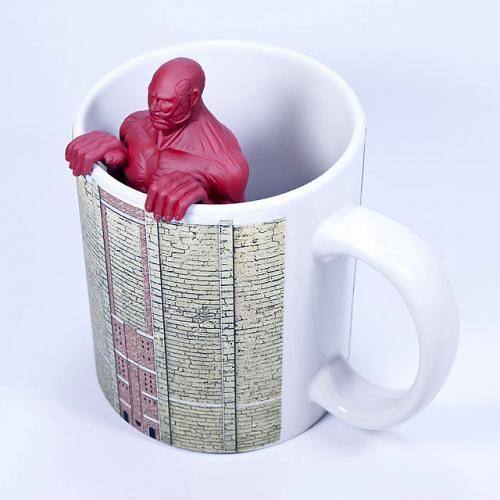 『進擊的巨人』超大型巨人濾茶器+ 馬克杯 組合