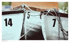 14~5~7 (peterphotographic) Tags: uk england lake 3 london three boat pond nikon britain 5 14 7 sigma rope number tied wanstead f28 eastlondon c