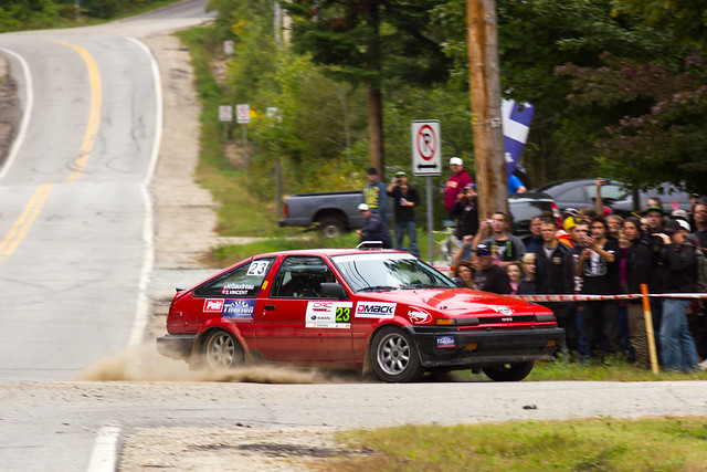 Simon Vincent & Hubert Gaudreau - Rallye Défi 2013