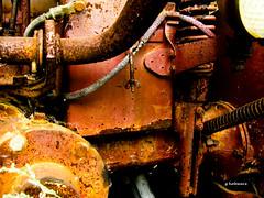 Rust #13 (gabi-h) Tags: old ancient smooth rusty rough 13 crusty farmmachinery gabih