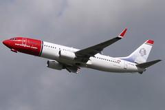 Norwegian Air Shuttle Boeing 737-8JP (nickchalloner) Tags: london air jenny norwegian shuttle boeing gatwick lind 737 dy b737 lgw 737800 nax b737800 egkk 7378jp b7378jp lndyg