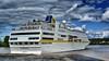 Départ du MV HAMBURG - Bordeaux - 15 septembre 2013