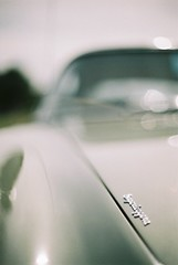 Superleggera (vespamore photography) Tags: brown david film 35mm martin kodak f14 buckinghamshire meeting olympus db4 portra zuiko aston centenary om2n astonclinton vespamorephotography 1stsept2013