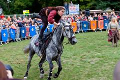 Funny way to ride! (_NicoDem_) Tags: horse france training canon cheval mark medieval ii 5d fête journée patrimoine dressage châteauthierry médiévale 5dmarkii 5dmkii