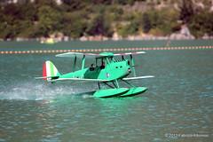 Take-off run (FabriA78) Tags: france schweiz switzerland ticino suisse hydro savoie svizzera lugano seaplane seaplanes aiguebelette waterplane hydravion waterplanes semiscale f3ai falbonico f3aw
