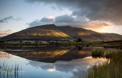 reflections of blencathra (awhyu) Tags: park lake water reflections photography district andrew national yu keswick blencathra