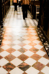 Leaving the chapel... (judy dean) Tags: castle floor legs chapel gloucestershire winchcombe tiles sudeley 2013 judydean