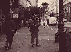 (rafael-castillo) Tags: life sanfrancisco street city people urban blackandwhite bw 50mm nikon downtown citylife thecity streetphotography commute bayarea powell commuter fullframe population frisco density ofarrell 50mm18 d600 nikond600 50mm18g