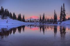 Mount Rainier Winter Reflection 2 (jeremyjonkman) Tags: