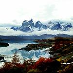 Lago Pehóe & Cuernos del Paine