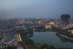 vl_02607 (Hanoi's Panorama & Skyline Gallery) Tags: city sky panorama lake skyline architecture skyscraper canon asian asia capital skylines hanoi asean appartment lotte hni skyscrapercity cugiy caoc nga