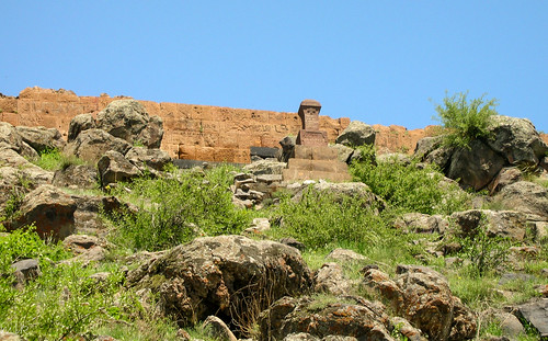The fortress of Kosh (12-13 century). Kosh village, Armenia.