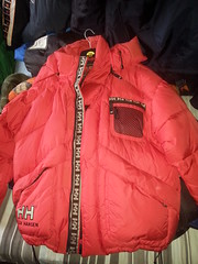 Helly Hansen down coat (Clothes Mountain) Tags: winter fetish coat down jacket hansen nylon puffa helly flickrandroidapp:filter=none