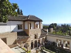 Granada : El Generalife - side south (sandromars) Tags: el granada andalusia spagna generalife