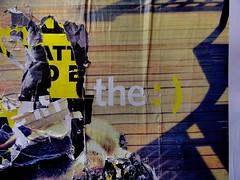 pentimento #1... (bruce grant) Tags: cartazes rasgados