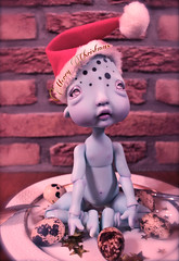 Merry Christmas By Dead Egg ! (Vali.Tox.Doll) Tags: blue circus bjd kane humpty dumpty nefer
