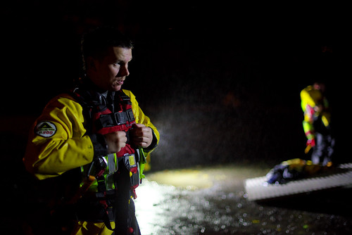 Night Training on the River Bala