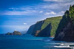 Pololu Bay (Kayla Stevenson) Tags: ocean usa water hawaii waves bigisland pololubeach