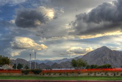Mountains and Clouds (Spebak) Tags: mountains grass clouds desert bluesky palm coachellavalley palmdesert indianwells