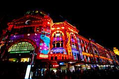 Flinders Street Station, Corner of Flinders Street and St Kilda Road, Melbourne