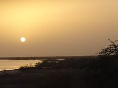 Soleil couchant en Mautitanie