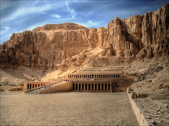 Hatshepsut's Temple (Sunset Dogs) Tags: