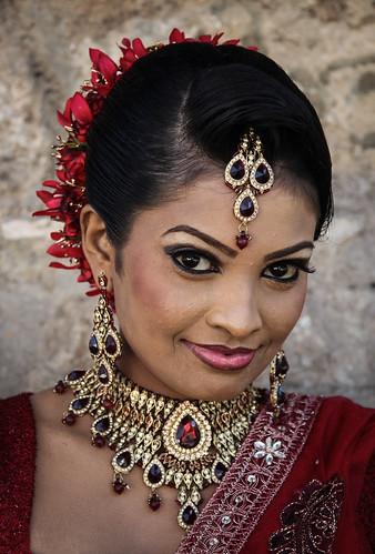 Woman portrait (Sri Lanka)