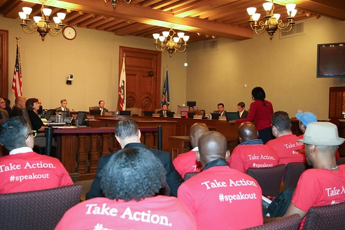 AHF Speak Out at the Pasadena City Council