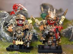 Reaper Cannibals (SecutorC) Tags: greek starwars fighter lego roman dwarf fantasy future demon warhammer warrior samurai minifig custom viking orc dwarves spartan gladiator samuraix apoc customx gox fighterx fantasyx soldierx romanx starwarsx greekx steampunkx warriorx skyrimx dwarfx warhammerx appocx dwarvesx