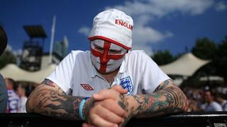 """英国内政部评估英格兰世界杯""""没戏"""""""