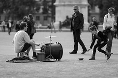 The Drummer (Claude Schildknecht) Tags: batteur bellecour drummer europe france lyon place places