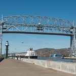 Duluth Trip - May 2014 - MV American Courage Enters Duluth thumbnail
