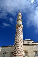 erefeli Mosque in Edirne (izabela_miszczak) Tags: building tourism architecture turkey minaret muslim islam prayer sightseeing mosque dome ottoman fresco sinan turkish minarets edirne frescoes adrianopolis hadrianopolis