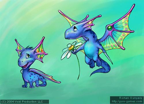 Маленький дракончик | Little Dragon