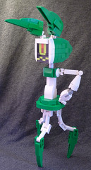 XJ6 (lingonkart) Tags: girl robot lego sister cartoon prototype robotgirl teenage xj wakeman moc xj6 girlrobot