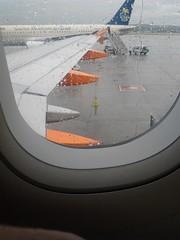 Salida en avion