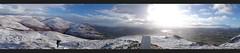 Dumyat panorama - too windy to get a complete circle! (Jonathan Bateman) Tags: