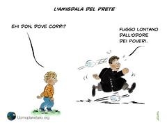 L'amigdala del prete (uomoplanetario.org) Tags: mama povert vignetta paura amigdala prete povero cattolici cristianesimo uomoplanetarioorg