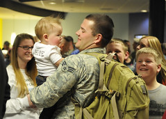 Indiana National Guard (The National Guard) Tags: family home kids children soldier army us force unitedstates military air families guard indiana homecoming national nationalguard soldiers ng welcome guardsmen troops fortwayne securityforces in guardsman airman airmen inng 122ndfighterwing