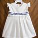 White Geranium Dress, 3-6 months