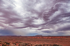 In the desert (ExceptEuropa) Tags: road travel light arizona sky usa mountain nature clouds canon landscape photography photographer desert horizon az roadtrip page geography geology majestic epic traveler canon6d